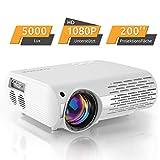 Beamer,5000 Lux Videoprojektor (550 ANSI) XPE660...