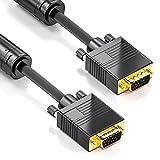 deleyCON 5m VGA Kabel 15pol - S-VGA Monitorkabel...