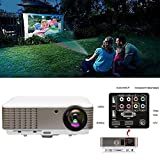 WIKISH 3900 Lumen 1080P 3D Beamer,Full HD LED 5,8' TFT...