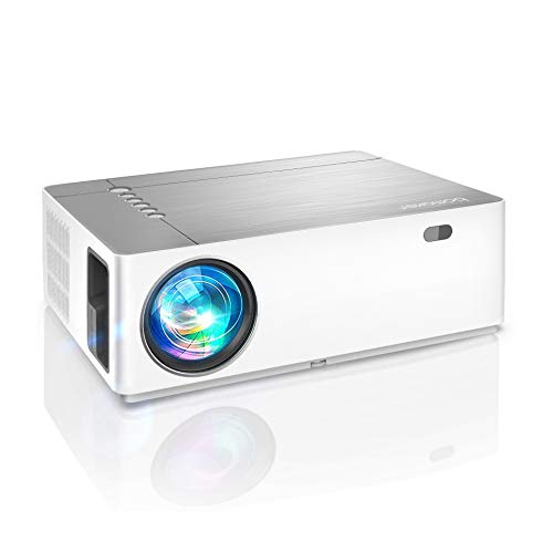 Beamer 7200 Lumen, BOMAKER Native 1080p Beamer Full HD, 4K, ±50° 5D Elektronische Korrektur, 50%...