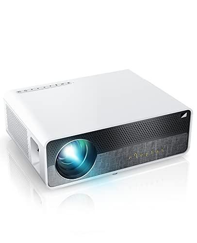 Elephas Beamer Native 1080P Full HD 7000 Lumen Projektor, 300 Zoll LCD Heimkino Beamer Kompatibel...