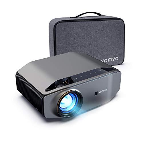 Beamer, Vamvo L6200 Full HD Native 1080P(1920*1080) 6000 Lumen Projektor mit Dolby Sound, Max 300''...