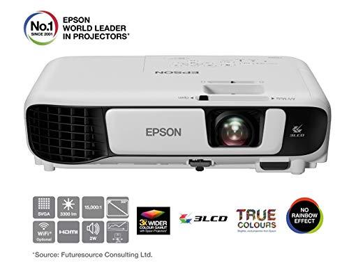 Epson EB-S41 3LCD-Projektor (SVGA, 3300 Lumen, 15, 000: 1...