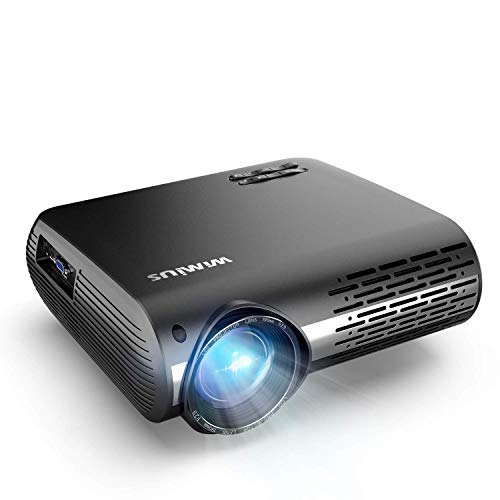 Beamer, WiMiUS 7000 Lumen Video Beamer Full HD 1920x1080P Unterstützung 4K Video 4D ± 50 °...