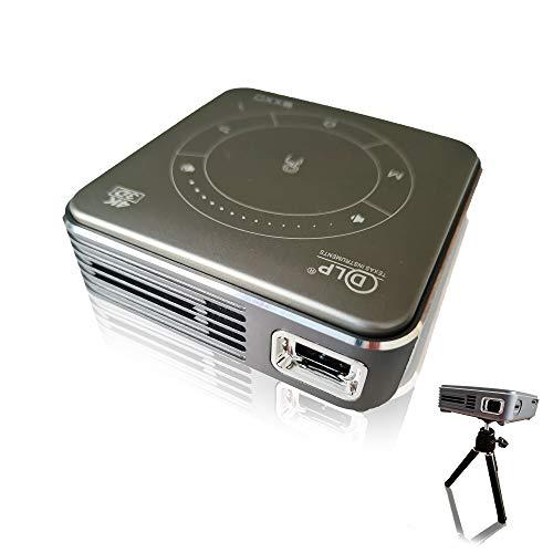 EXXO X2095M 4K Mini Projektor Beamer 3D HD 1080P, Ultra...