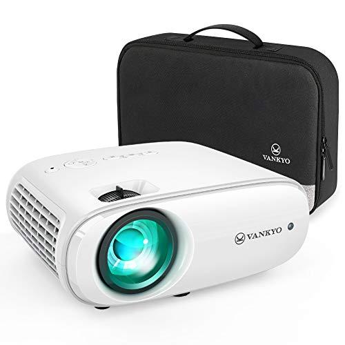 VANKYO Cinemango 100 Mini Beamer, 5000 Lumen Heimkino Beamer, Support 1080P Full HD mit 60000...
