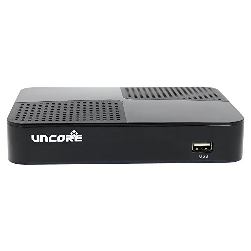 Uncorex 4K Android Digital Satelliten Receiver - Smart TV Box, 4K Ultra HD IPTV, Android 6.0...