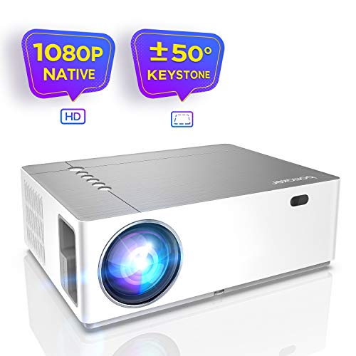 Beamer 6800 Lumen Full HD Native 1080p BOMAKER LED Videoprojektor 300 inch Display Zoom...
