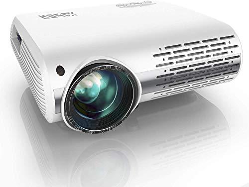 Beamer,YABER Beamer 7000 Lumen,Native 1080P Beamer,Beamer Heimkino Full HD mit ±50°4D...