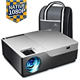 VANKYO Performance V600 Beamer, 6000 Lumen Full HD Beamer, Native 1080P(1920 x 1080) Video Beamer...