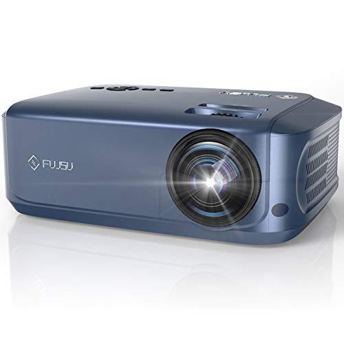 Beamer, FUJSU 1080P Full HD Office Beamer für Powerpoint Präsentationen, LCD Heimkino Beamer mit...