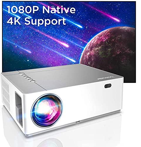 BOMAKER Beamer Full HD 4K, Native 1080P 7200 Beamer, 3D+5D...