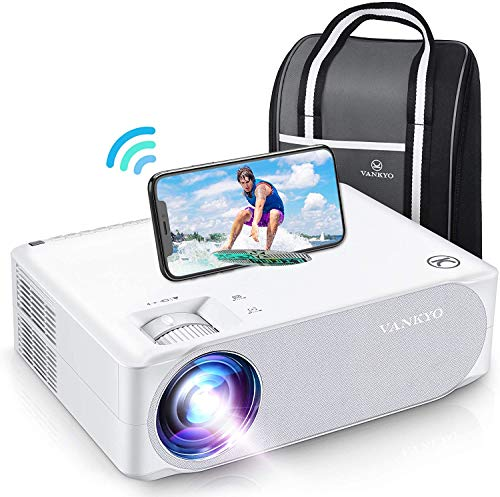 WiFi Beamer 7000 Lux, Native 1080p Beamer Full HD, VANKYO...