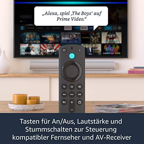 Fire TV Stick mit Alexa-Sprachfernbedienung (mit TV-Steuerungstasten) | HD-Streaminggerät